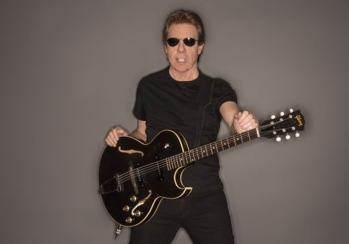 Legendary musician George Thorogood is a Mets fan and proud of it. Sort of. Photo by David Dobson.