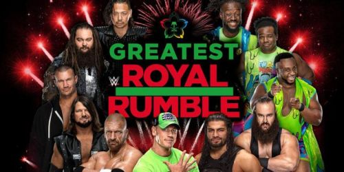 Greatest Royal Rumble poster