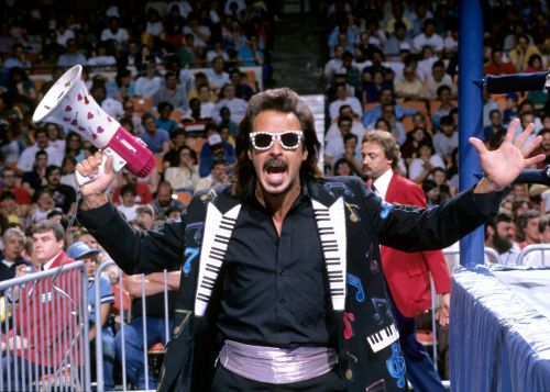 Jimmy Hart is the former manager of Hulk Hogan