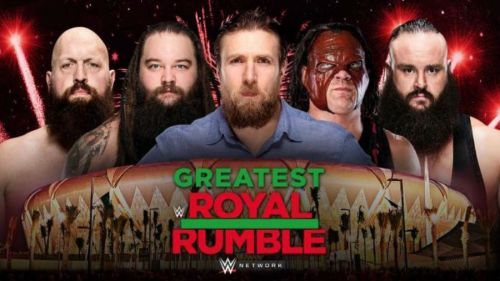 This show is gonna be as big as WrestleMania.