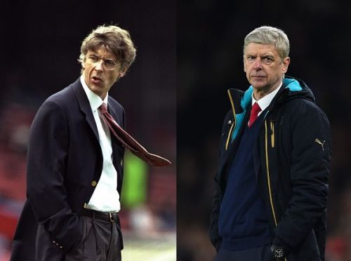 Arsene Wenger - Then and Now 20 Years at Arsenal