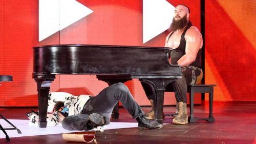 Braun Strowman vs. Elias Symphony of Destruction