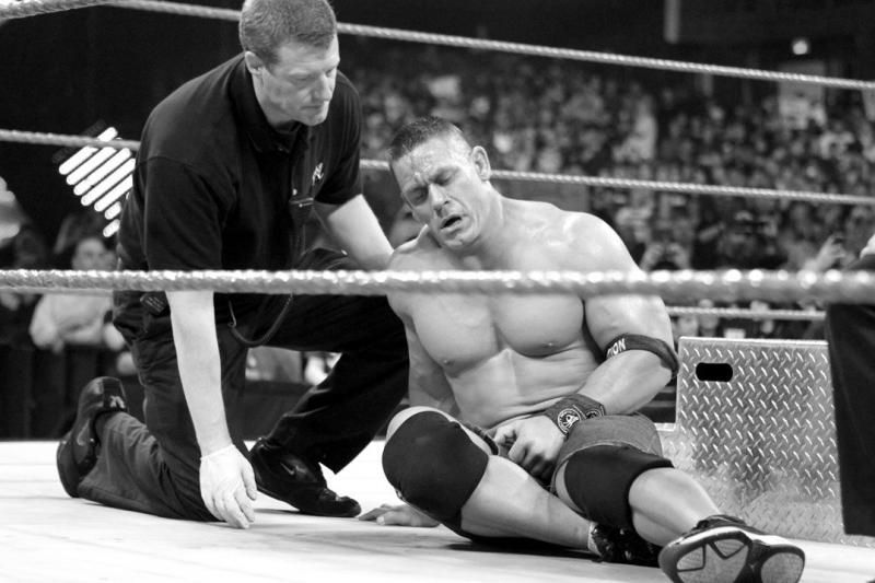 Image result for wwe john cena blood