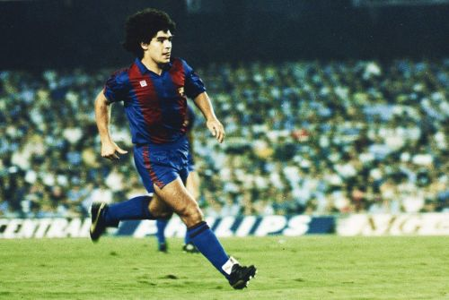 Maradona was good for Barca but didn't stay long enough to become a club legend