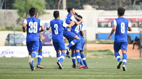 Bengaluru FC 'B' earned a narrow win against Mohammedan Sporting. (Photo: Bengaluru FC)