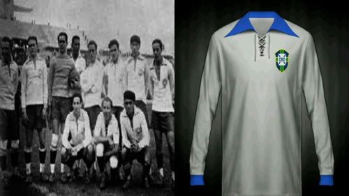 Brazil World Cup Kit in 1930
