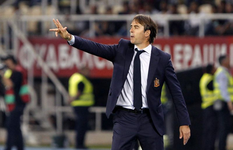 Manager Lopetegui has been watching the Spaniards in the Premier League closely
