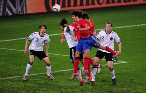 Carles Puyol goal Spain Germany 2010 World Cup semi-final