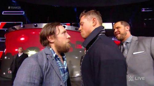 The Miz has a punch coming, courtesy of Daniel Bryan