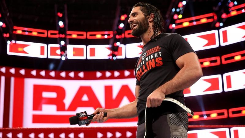 Image result for wwe seth rollins intercontinental champion