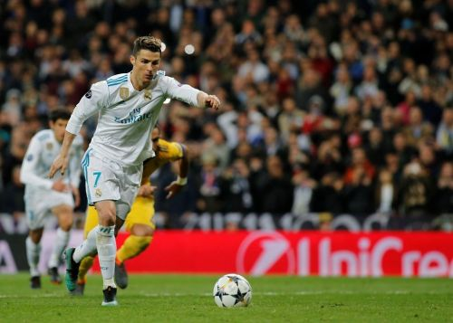 Cristiano Ronaldo scored for the 10th consecutive game in the UCL