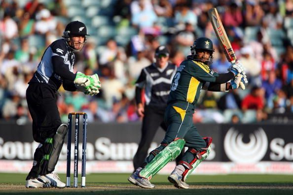 New Zealand v Pakistan - ICC Champions Trophy - Semi Final