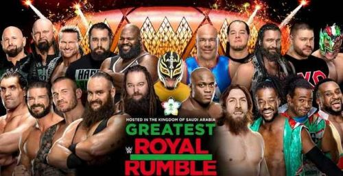 The Greatest Royal Rumble included a number of debuts for NXT stars