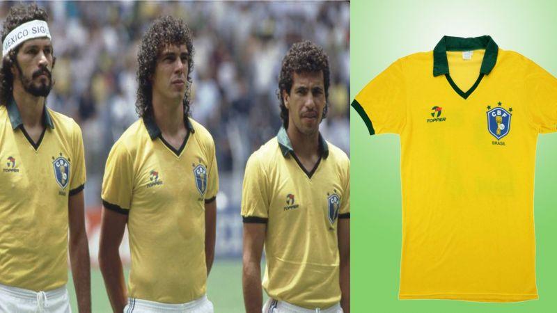 the best attitude 747d9 de519 Page 4 - Brazil World Cup Kits History (1930-2018)