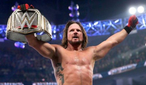 AJ Styles defend the WWE Title on the night
