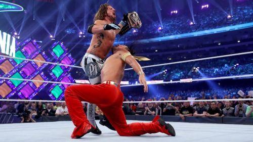 Shinsuke Nakamura shocked the world when he turned on AJ Styles at WrestleMania 34