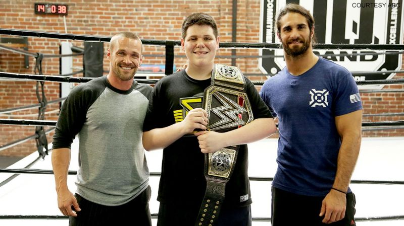 Image result for seth rollins with fans