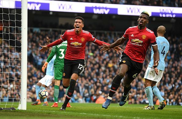 b74650ca15a Twitter reacts as Manchester United come from behind to beat Manchester  City 3-2 in the derby