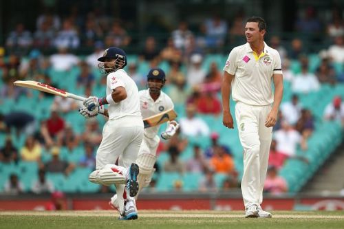India last played a Test series against Australia in 2014-15