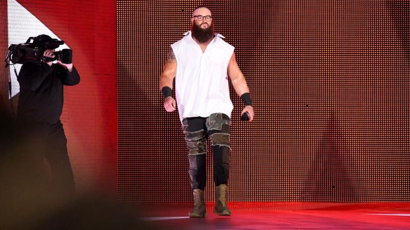 Brain Strowman could be a great opponent for Lashley as well