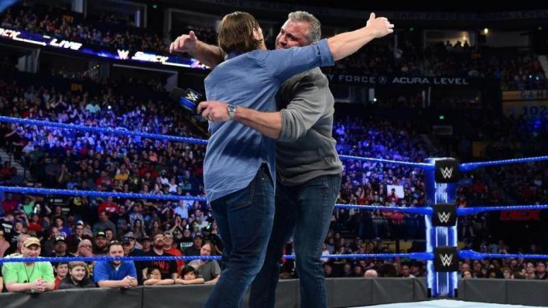 Daniel Bryan Shane McMahon hugh