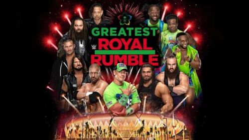 The Greatest Royal Rumble is going to be quite some show!