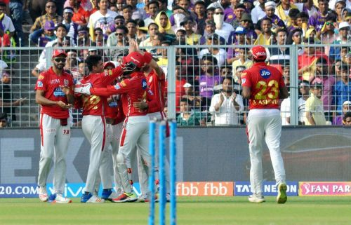 KXIP are now at the top of the table