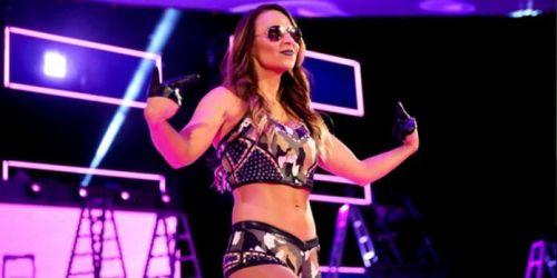 Former WWE superstar Tenille Dashwood aka Emma