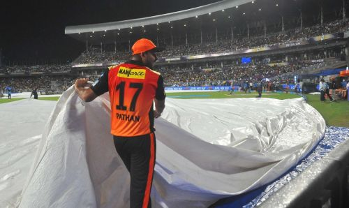 Rain played spoilsport not for the visitors, but for the hosts
