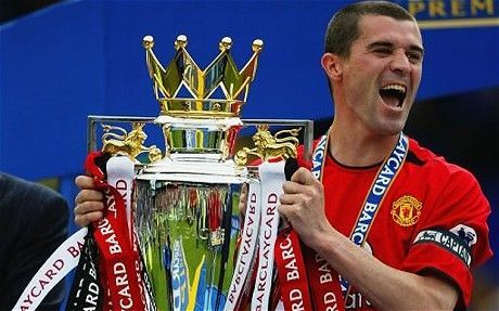 Roy Keane captained Manchester United to 4 Premier League titles