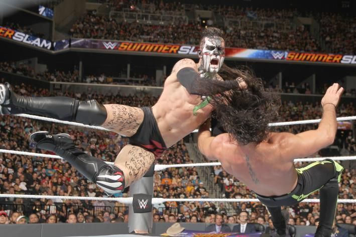 Time for Rollins to lose another title match to Balor.