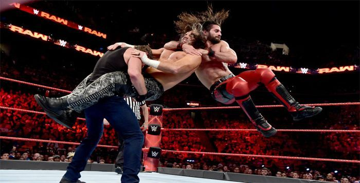 Image result for seth rollins in ring