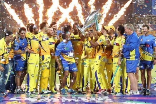 Chennai Super Kings have lifted the IPL title twice (2010,11)