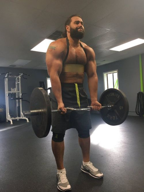 Rusev was a powerlifter in his native Bulgaria.