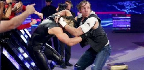 Dean and Seth feuded after the shield split