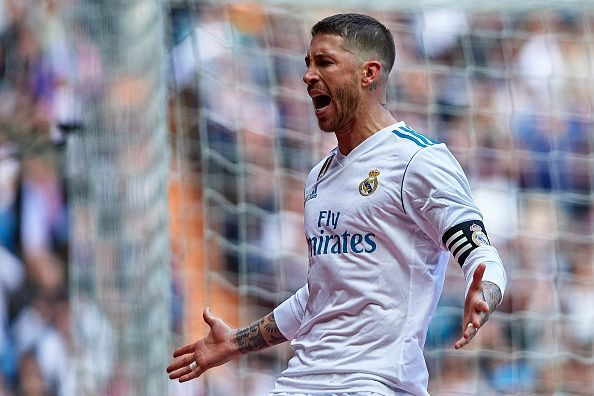 086d13fd7 Report  Real Madrid s Sergio Ramos could be banned for Champions League  semi-final