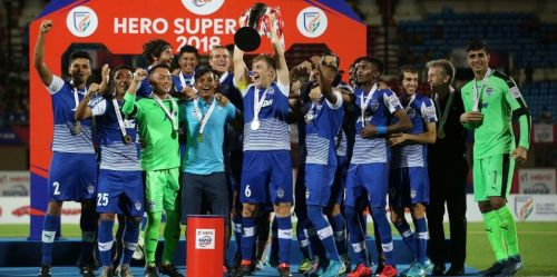 Bengaluru FC won the Indian Super Cup last year