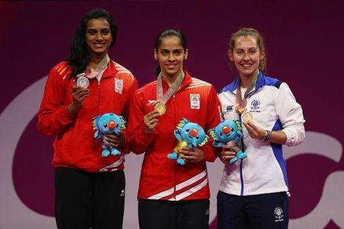 Badminton - Commonwealth Games Day 11