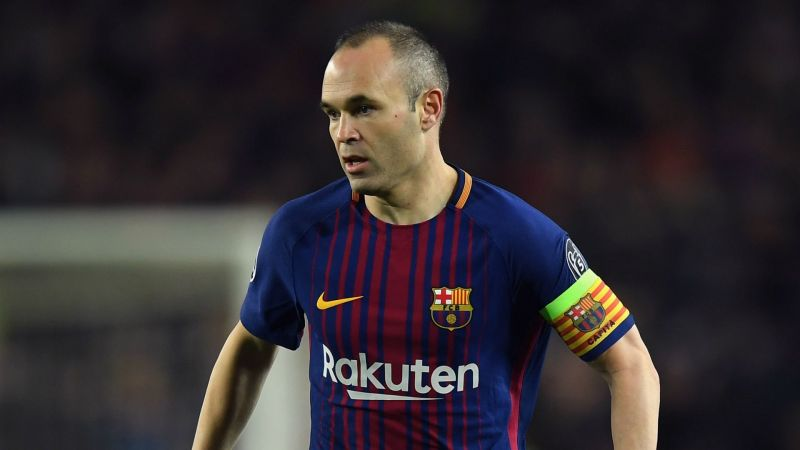 Stats that defined Andres Iniesta's career in  Barcelona