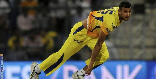 Ishwar Pandey was bought for whopping 1.5 crores from his base price of 10 lakhs by the Chennai Super Kings during the IPL 7 Auction.