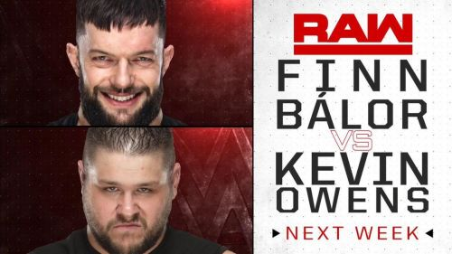 Balor and Owens will rehash their famous feud from NXT next week on Raw.