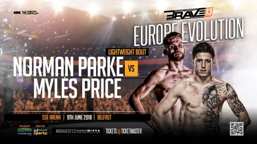 Brave 13: Belfast will feature Parke against Price in the co-main event