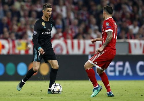 Cristiano Ronaldo would be raring to go