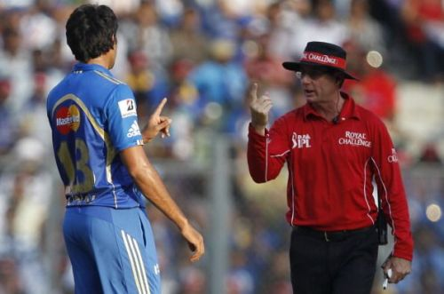 Some of the unfair decisions led to arguments between the umpire and players