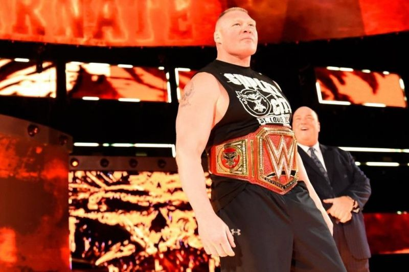 Brock Lesnar is likely to lose his WWE Universal Championship at SummerSlam 2018