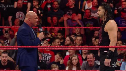Angle not retaliating what The Authority had to say was something new