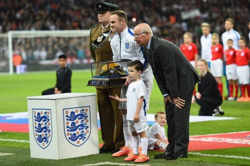 Image result for rooney 100th cap
