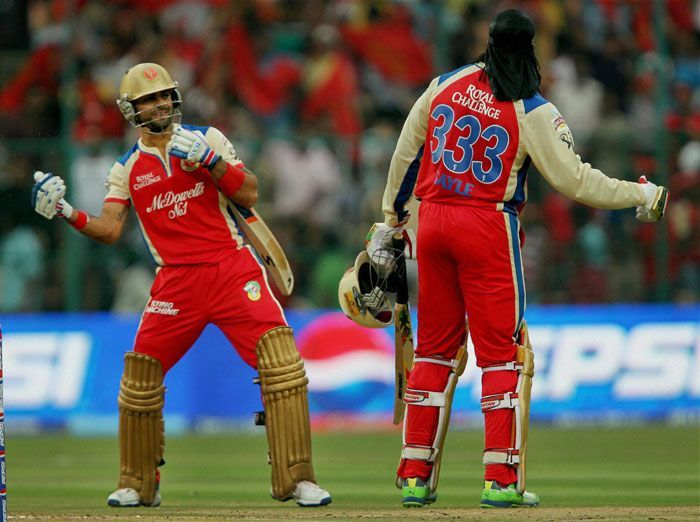 The deadly duo of Gayle and Kohli have accounted for 18% IPL tons