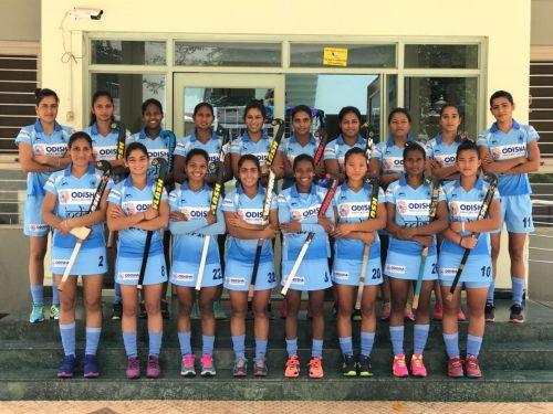 The 18-member women's team