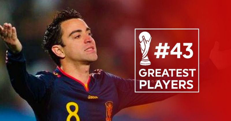 50 greatest players in world cup history 43 xavi hernandez voltagebd Images